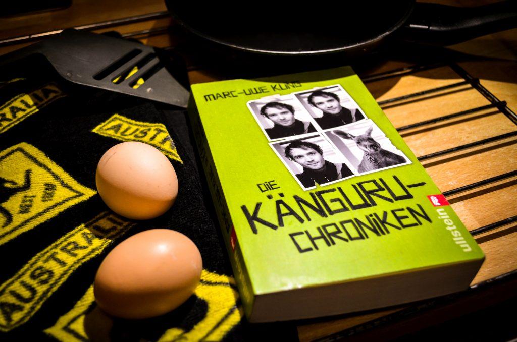 Die Känguru Chroniken und Küchenuntensilien