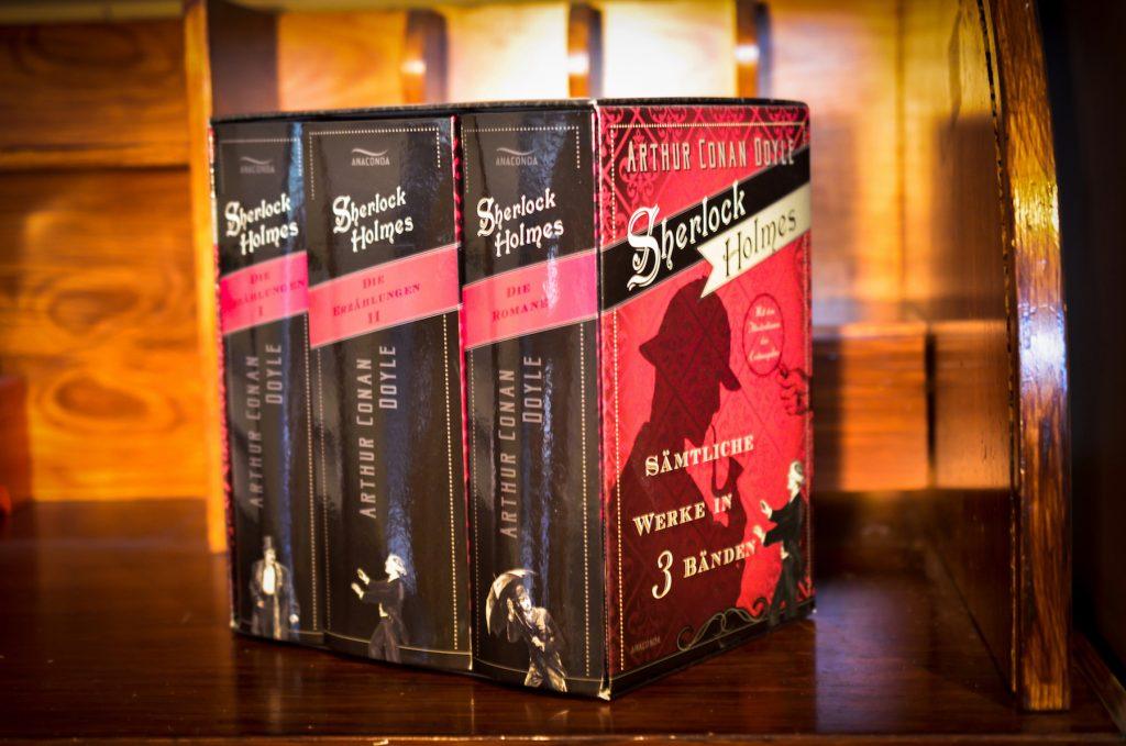 Schmuckausgabe Sherlock Holmes auf nixzulesen Buchblog