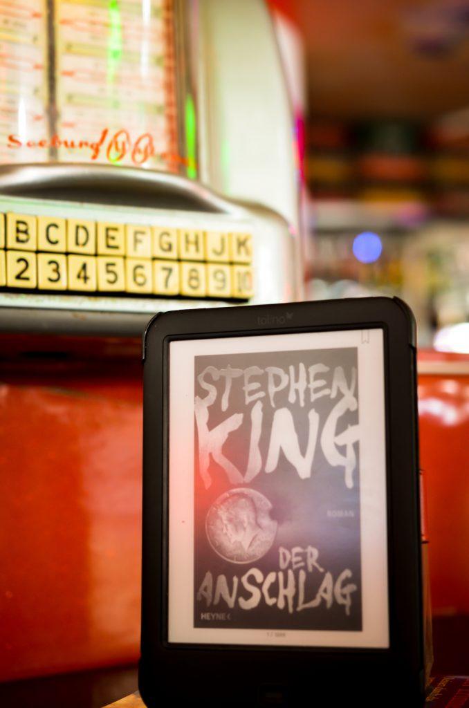 Stephen King - Der Anschlag auf dem Tolino Ebookreader
