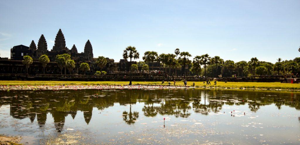 Angkor Wat, Kambodscha auf www.nixzulesen.de